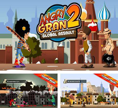 In addition to the game Angry Gran Toss for Android phones and tablets, you can also download Angry Gran 2 for free.