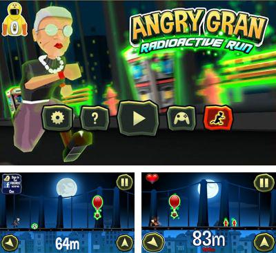 In addition to the game Angry Gran Toss for Android phones and tablets, you can also download Angry Gran RadioActive Run for free.
