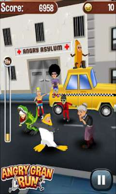Get full version of Android apk app Angry Gran Run for tablet and phone.