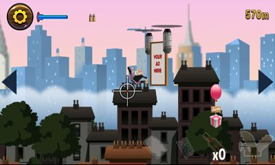 Download Angry Gran Toss Android free game.