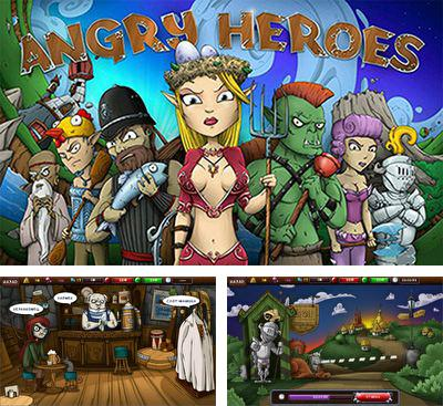 In addition to the game Girl Versus Knives for Android phones and tablets, you can also download Angry Heroes for free.
