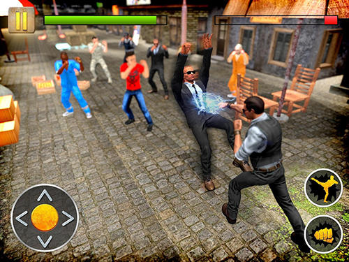 Angry mafia fighter attack 3D screenshot 2