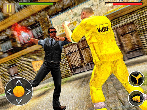 Скріншот гри Angry mafia fighter attack 3D на Андроїд планшет і телефон.