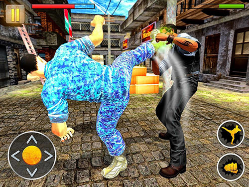 Геймплей Angry mafia fighter attack 3D для Android телефону.