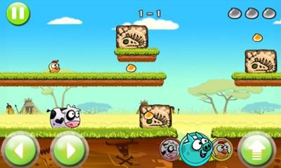 Screenshots von Angry Piggy Adventure für Android-Tablet, Smartphone.