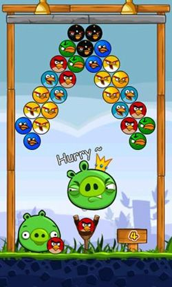 Kostenloses Android-Game Angry Birds Shooter. Vollversion der Android-apk-App Hirschjäger: Die Angry Birds Shooter für Tablets und Telefone.