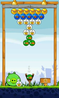 Screenshots von Angry Birds Shooter für Android-Tablet, Smartphone.