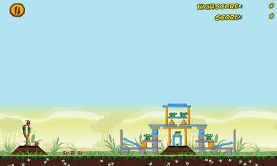 Screenshots of the Angry Swamp ChootEm for Android tablet, phone.
