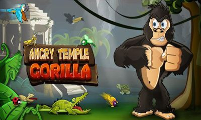 Angry Temple Gorilla