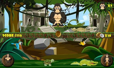 Screenshots von Angry Temple Gorilla für Android-Tablet, Smartphone.