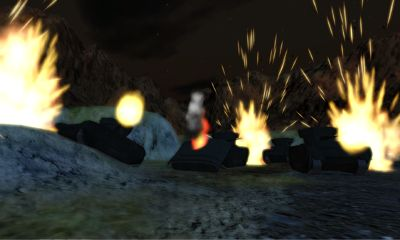Screenshots of the Angry Wave First Assault for Android tablet, phone.
