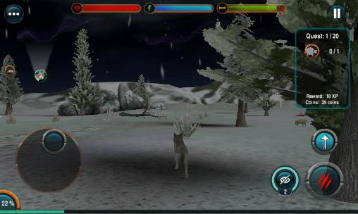 Screenshots von Angry wolf simulator 3D für Android-Tablet, Smartphone.