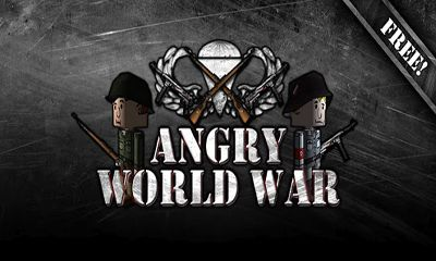 Angry World War 2 poster