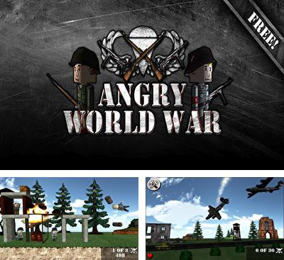 In addition to the game Chuash 'em for Android phones and tablets, you can also download Angry World War 2 for free.