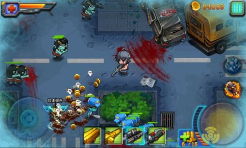Angry zombie: City shoot screenshot 1