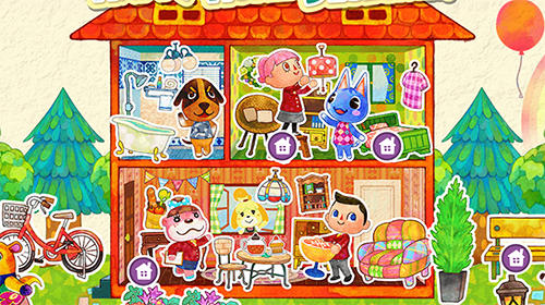 Kostenloses Android-Game Animal Crossing. Vollversion der Android-apk-App Hirschjäger: Die Animal crossing für Tablets und Telefone.