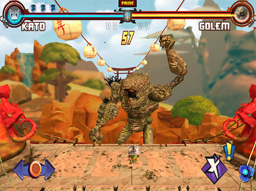 Screenshots von Animal fury für Android-Tablet, Smartphone.