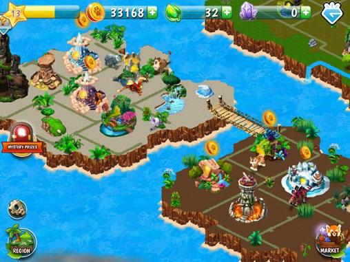 Screenshots von Animal voyage: Island adventure für Android-Tablet, Smartphone.