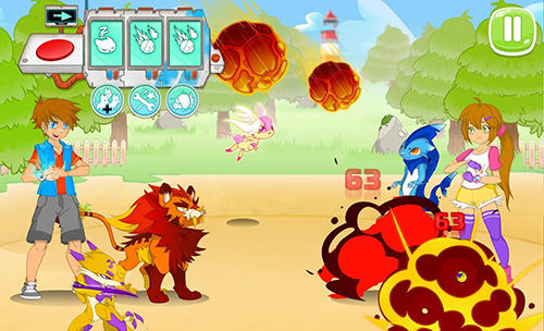 Écrans de Animalon: Epic monsters battle pour tablette et téléphone Android.