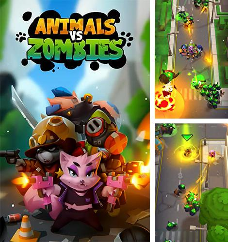 Animals vs zombies