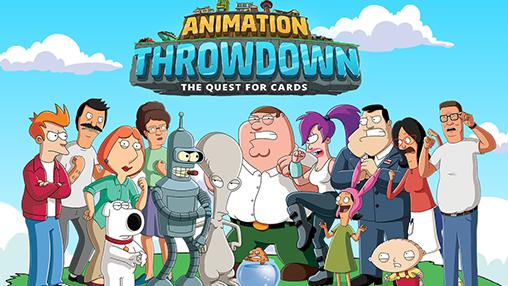 Animation throwdown: The quest for cards poster