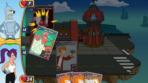 Screenshots von Animation throwdown: The quest for cards für Android-Tablet, Smartphone.