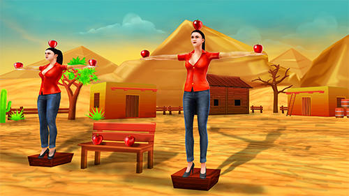 Screenshots of the Apple bow shooter: Best 3D archery shooting game for Android tablet, phone.