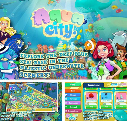 In addition to the game Attack of the ghastly grey matter for Android phones and tablets, you can also download Aqua city: Fish empires for free.