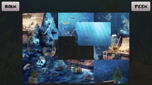 Kostenloses Android-Game Aquarium: Versteckte Objekte. Vollversion der Android-apk-App Hirschjäger: Die Aquarium: Hidden objects für Tablets und Telefone.
