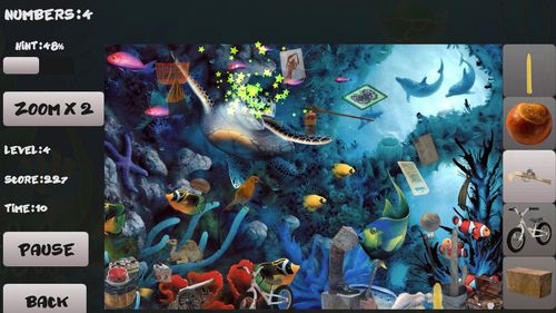Screenshots von Aquarium: Hidden objects für Android-Tablet, Smartphone.