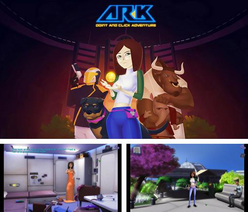 In addition to the game Atlantis 3 - The New World for Android phones and tablets, you can also download AR-K: Point and click adventure for free.