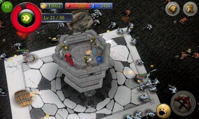 Screenshots of the AR Magical Battle for Android tablet, phone.