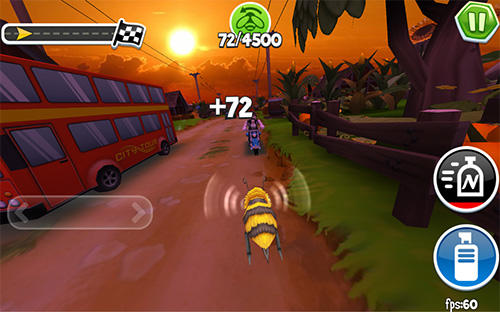 Arcade bugs fly screenshot 1