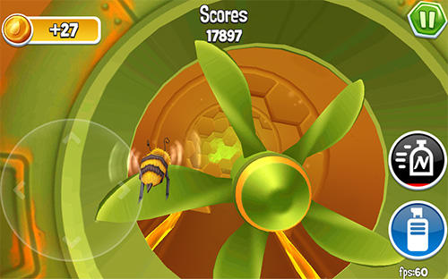 Arcade bugs fly screenshot 2