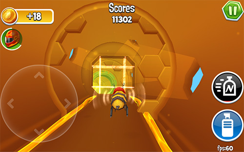 Arcade bugs fly screenshot 4