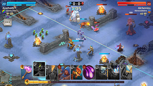 Screenshots von Arcane citadel: Duel of mages für Android-Tablet, Smartphone.