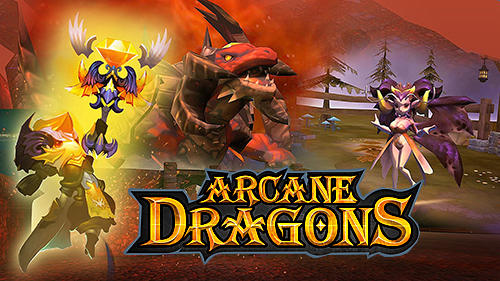 Arcane dragons poster