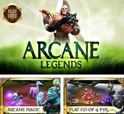 In addition to the game Zombie Runaway for Android phones and tablets, you can also download Arcane Legends for free.