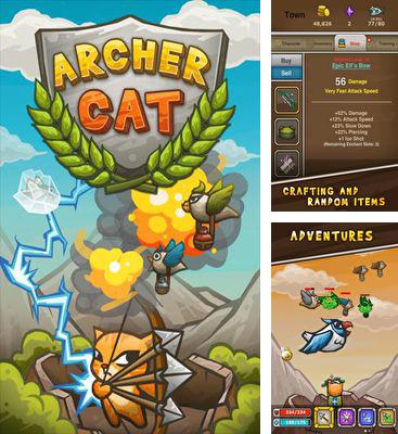 In addition to the game Hover Cross Racing for Android phones and tablets, you can also download ArcherCat for free.