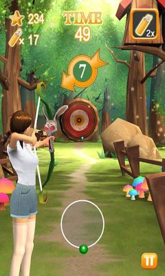 Screenshots of the Archery Star for Android tablet, phone.