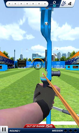 Capturas de pantalla de Archery: World champion 3D para tabletas y teléfonos Android.