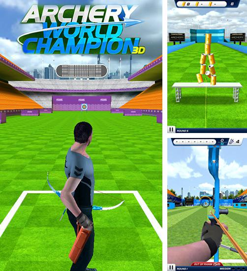 In addition to the game Archery: World champion 3D for Android, you can download other free Android games for GOCLEVER Quantum 3 700 Lite.
