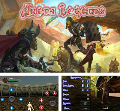 In addition to the game Battleloot Adventure for Android phones and tablets, you can also download Arena Legends for free.