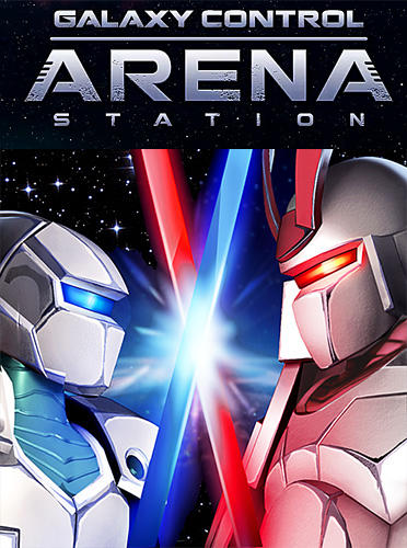 Arena station: Galaxy control online PvP battles poster