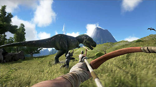 Скачати гру Ark: Survival evolved на Андроїд телефон і планшет.