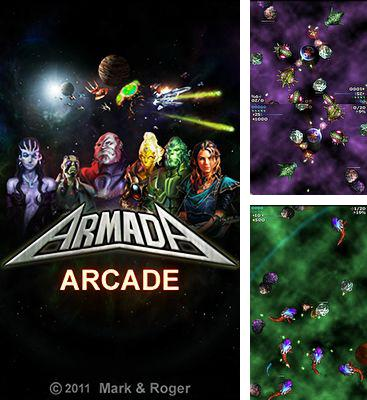 In addition to the game Saving Hamster Go Go for Android phones and tablets, you can also download Armada arcade for free.
