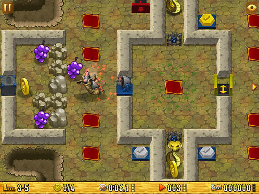 Screenshots do Armadillo: Gold rush - Perigoso para tablet e celular Android.