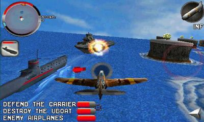 Screenshots of the Armageddon Squadron for Android tablet, phone.