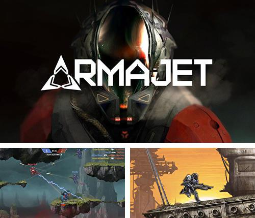 In addition to the game Warfriends for Android phones and tablets, you can also download Armajet for free.