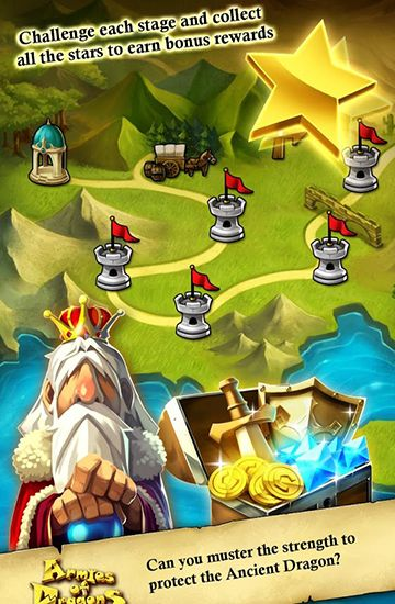 Juega a Armies of dragons para Android. Descarga gratuita del juego Ejército de dragones .